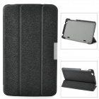Protective PU Leather Case for LG G Pad 8.3 V500 - Black