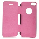 2N1-1 Protective PU Leather Case for iPHONE 5 / 5S - Pink