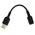 Round 5.5 x 2.5 female to Square Male Adapter Cable for Lenovo