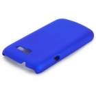 Protective Matte Back Case for Samsung Galaxy Trend Lite S7390/S7392 - Blue