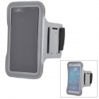 Sports Velcro Band Armband for Samsung Galaxy S3 / S4, HTC One X / M7 - Grey