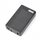 Emegency Portable 12V / 5V 5800mAh Battery Pack for Samsung / IPHONE - Black
