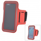 Sports Velcro Band Armband for Samsung Galaxy S3 / S4, HTC One X / M7 - Red