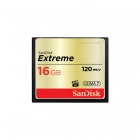 SanDisk 16GB Extreme CompactFlash Flash Memory Card 120MB/s