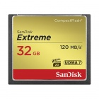 SanDisk 32GB Extreme CompactFlash Flash Memory Card 120MB/s