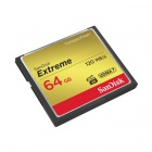 SanDisk Extreme 64GB Compact Flash UDMA7 120MB / s - SDCFXS-064G