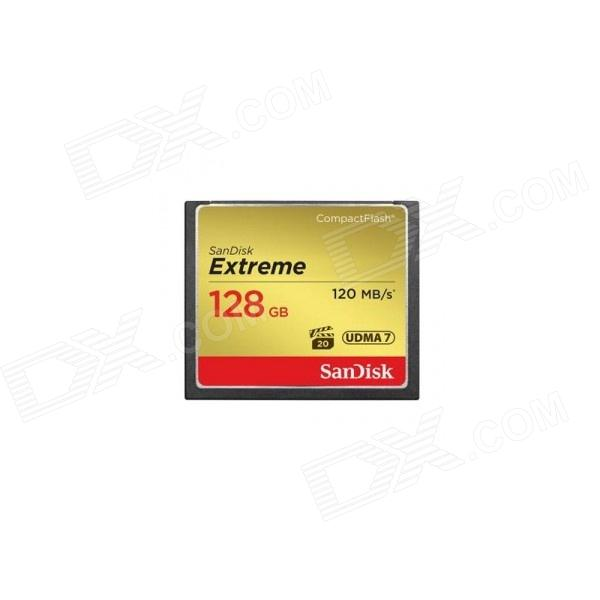 SanDisk Extreme 128GB Compact Flash UDMA7 120MB / s SDCFXSB-128G