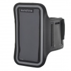 Sports Velcro Band Armband for Samsung Galaxy S4 Mini / i9190, Galaxy S3 Mini / i8190 - Black
