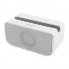 HIG-SEE BT58  Bluetooth/TF Mini-movie Play Station Speaker for IPHONE / IPOD / IPAD - White