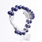 EANA WA04022V Pure Natural Lapis Lazuli Women Bracelet Quartz Watch