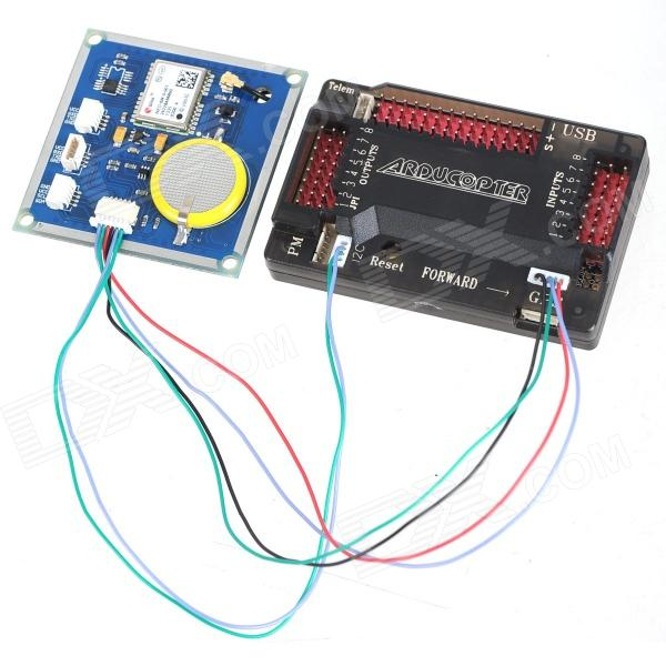 ZnDiy-BRY External Compass APM Flight Controller Board w / GPS for  Multicopter Fixed-wing Copter