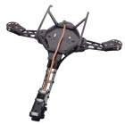 HJ-Y3 Carbon Fiber Tricopter / Three-axis Multicopter Frame - Black