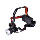 UltraFire LED 3-Mode 600LM Cool White Headlamp - Black + Silver (1 x 18650 / 3 x AAA)