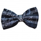 DEDO MG-38-1 British Gentleman Bow Tie - Music Symbols