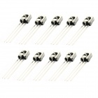 BONATECH Universal Infrared Receiver with Metal Shell - Silver (10 PCS)