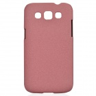 TEMEI Quicksand Style Protective Plastic Back Case for Samsung Galaxy Win i8552 - Pink