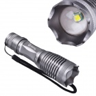 RichFire SF-705B 800lm CREE XM-L T6 5-Mode White Zooming LED Flashlight - Silver (1 x 18650 / 3 xAA)