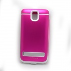 "External ""4200mAh"" Power Battery Charger w/ PU Leather Cover for Samsung Galaxy Note 3 N9000 - Pink"