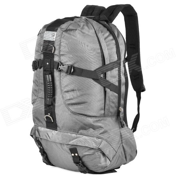 LKLR Outdoor Mountaineer Frameless Ryggsekk - Grå (45L)