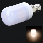 SENCART E14 1.8W 110lm 3000K 15 x SMD 5730 LED Warm White Light Lamp - White + Grey (AC 220~240V)