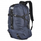 LKLR 028 Convenient Outdoor Sports Hiking Nylon Backpack - Dark Blue (45L)