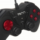 TSCO TG120 Wired Game Controller for PC - Black (180cm-Cable)
