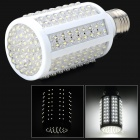 7F-10W-101 E27 743lm 6500K 10W 166-LED White Light Corn Lamp - White (AC 220~240V)