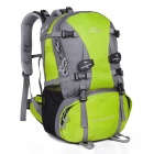 LKLR 429 Convenient Outdoor Sports Nylon Backpack for Hiking - Green + Grey (40L)