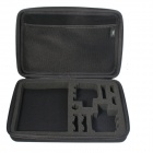 Super Large EVA Camera Storage Bag for GoPro HD Hero 3+ / HERO 3 / HERO 2 / SJ4000 - Black
