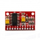 BONATECH USB Powered 5V 3W Mini Dual-channel Digital Amplifier Board - Red
