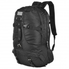 LKLR Outdoor Mountaineer Frameless Backpack - Black (45L)