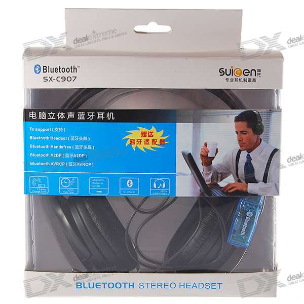 Hifi Bluetooth Stereo Handsfree Headset (10-Hour Talk/200-Hour Standby)