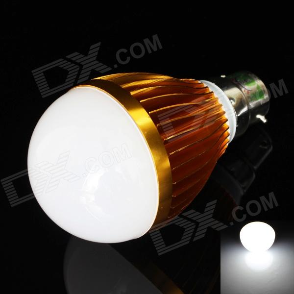 LUO B22 9W 730lm 6500K 18 x SMD 5630 ampoule Lampe à LED White Light - Golden + Blanc (85 ~ 265V)