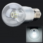 E27 3W 210lm 30-SMD 3014 LED Neutral White Light Lamp Bulb (220~240V)