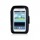 Waterproof Neoprene Armband for Samsung Galaxy Note 2 N7100 - Black