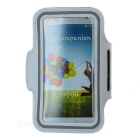 Protective Sports Neoprene Armband for Samsung Galaxy S4 / i9500 - White
