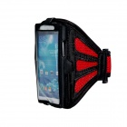 Protective Sports Neoprene Armband for Samsung Galaxy S4 / i9500 - Red