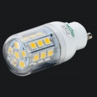 XYT GU10 5.4W 500lm 3500K 27 x SMD 5050 LED Warm White Light Lamp - White (120~265V)