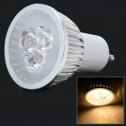 LSON GU10 6W 180lm 3200K 3-LED Warm White Light Spotlight - Silver (AC 85~265V)