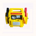 SH-303-2 4 in 1 Car Jump Starter w/ Air Compressor - Black + Yellow