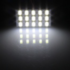T10 / BA9S / Festoon 3W 300lm 15 x SMD 5630 LED White Light Car Reading Light / Panel Light - (12V)