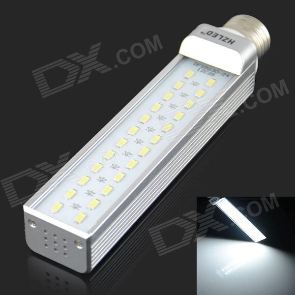 HZLED E27 12W 1100lm 6000K 24 x SMD 5630 LED White Light Lamp Bulb - White + Silver (AC 85~265V) подушка декоративная la pastel la pastel mp002xu00xtm