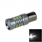 1156 / BA15S / P21W 10W 400lm 12 x SMD 5630 LED + 1-LED White Light Car Backup Lamp - (12~24V)