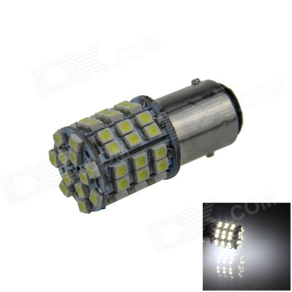 BAY15D / 1157 2.5W 200lm 54 x SMD 1210 LED White Car Reversing Light / Brake / Tail Lamp - (12V)