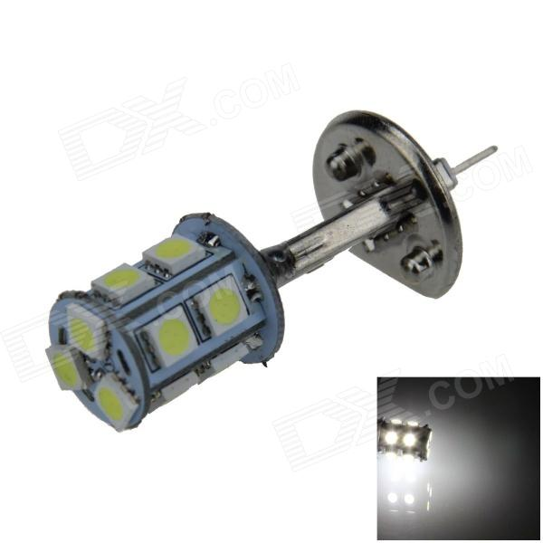 H1 2.5W 250lm 13 x SMD 5050 LED White Light Car Foglight / Tail Light - (12V) h1 4w 220lm 68 smd 1210 led warm white light car foglight headlamp tail light 12v