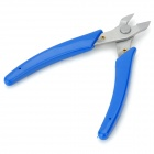 Jiede D308 Stainless Steel Electronic Components Cutting Pliers - Deep Blue