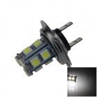 H7 2.5W 250lm 13 x SMD 5050 LED White Light Car Foglight / Tail Light - (12V)