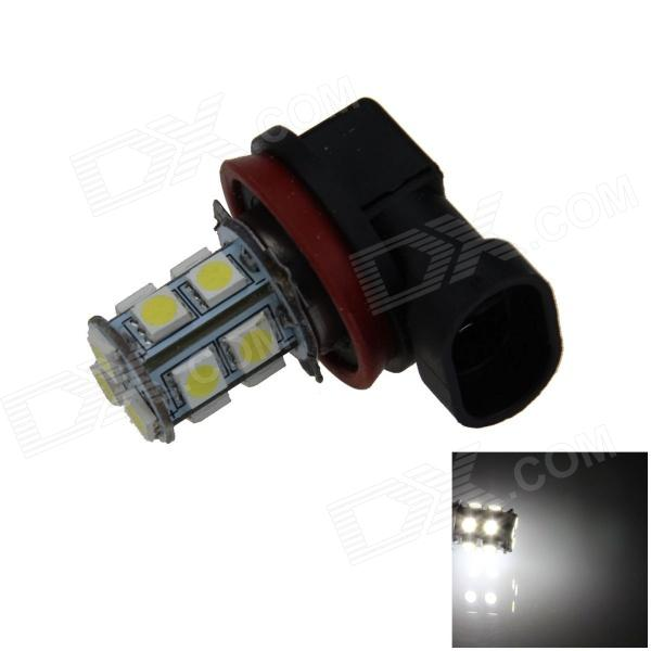 H11 2.5W 250lm 13 x SMD 5050 LED White Light Car Foglight / Tail Light - (12V) h1 4w 220lm 68 smd 1210 led warm white light car foglight headlamp tail light 12v