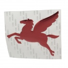 Creative Pegasus Pattern Car Decoration Sticker - Red
