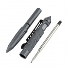 OUMILY Aircraft-Grade Aluminum 6061 T-6 Tactical Defense Writing Pen - Grey (2PCS)